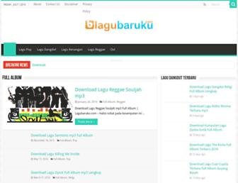 lagubaruku.com screenshot