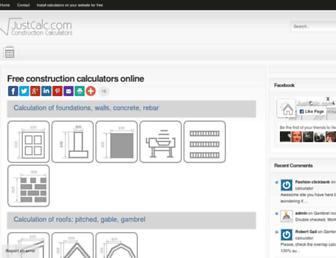 justcalc.com screenshot