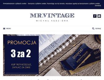 mrvintage.pl screenshot