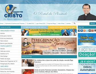 encontrocomcristo.com.br screenshot