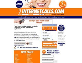 internetcalls.com screenshot