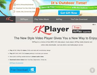 5kplayer.com screenshot