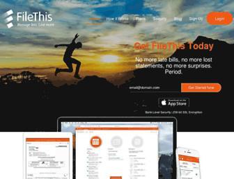 Thumbshot of Filethis.com