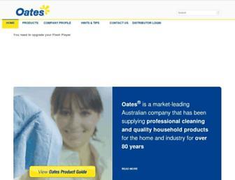 oates.com.au screenshot