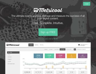 metricool.com screenshot