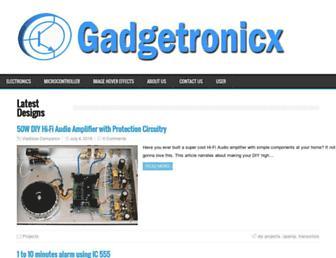 gadgetronicx.com screenshot