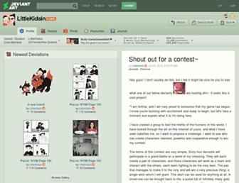 littlekidsin.deviantart.com screenshot
