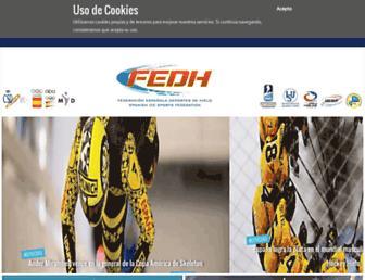 fedhielo.com screenshot