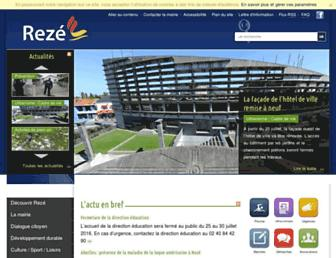 reze.fr screenshot