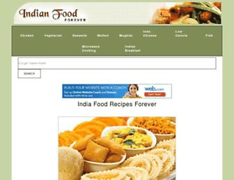 Thumbshot of Indianfoodforever.com