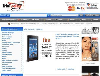 trinitrolley.com screenshot