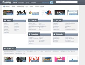 descargar.info screenshot