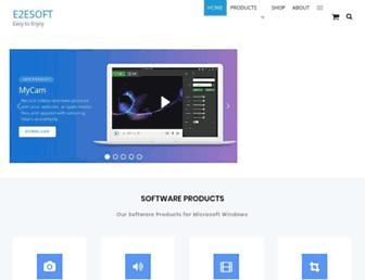 e2esoft.com screenshot