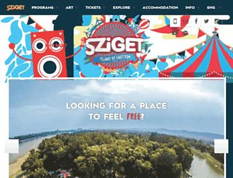 Thumbshot of Szigetfestival.com