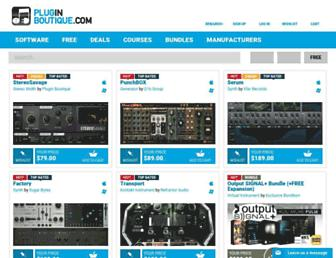 pluginboutique.com screenshot