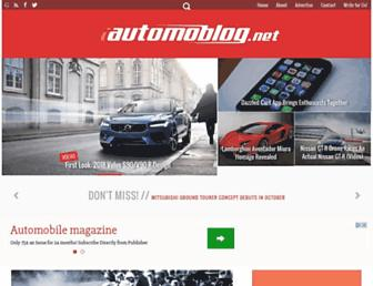 automoblog.net screenshot
