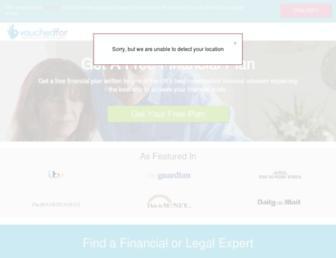 vouchedfor.co.uk screenshot