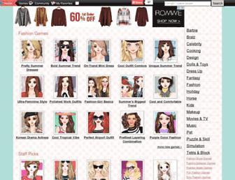 dailyfashiongames.com screenshot