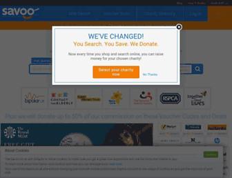 savoo.co.uk screenshot
