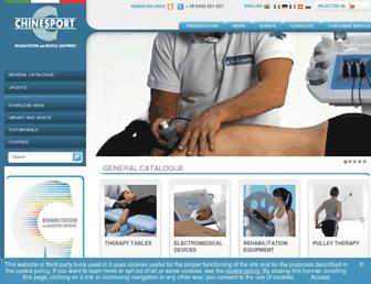 chinesport.com screenshot