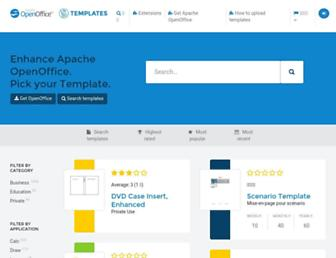 templates.openoffice.org screenshot