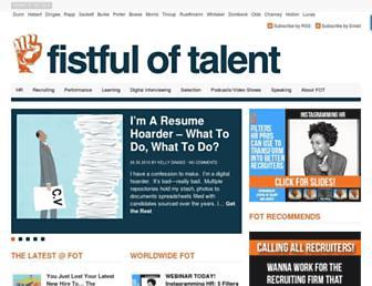 Thumbshot of Fistfuloftalent.com