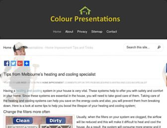 Thumbshot of Colourpresentations.com.au