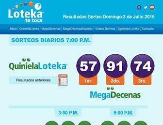 loteka.com screenshot
