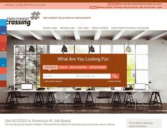 employmentcrossing.com screenshot