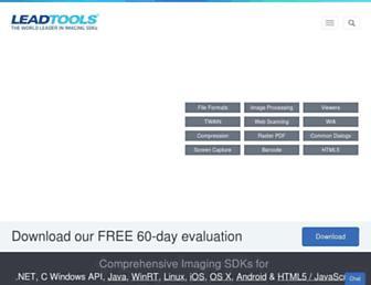 leadtools.com screenshot