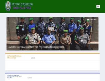 npfdpk.gov.ng screenshot