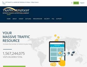 Thumbshot of Trafficmonsoon.com