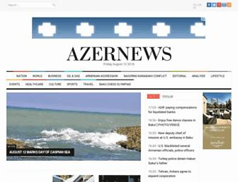 Thumbshot of Azernews.az