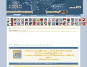 forum-ude.com screenshot