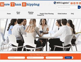 morethanshipping.com screenshot