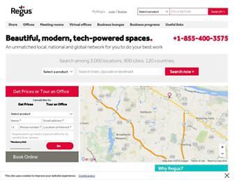 Thumbshot of Regus.com