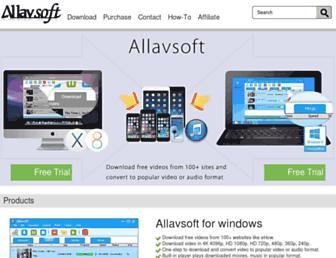 allavsoft.com screenshot