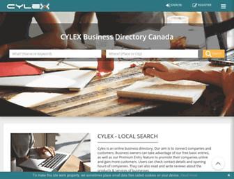 cylex.ca screenshot