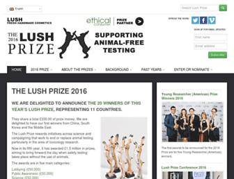 Thumbshot of Lushprize.org