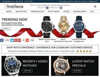 Thumbshot of Prestigetime.com
