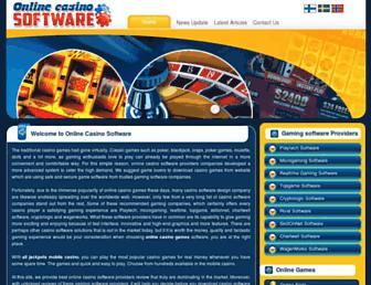 Thumbshot of Online-casino-software.org