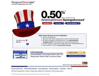 Thumbshot of Emigrantdirect.com
