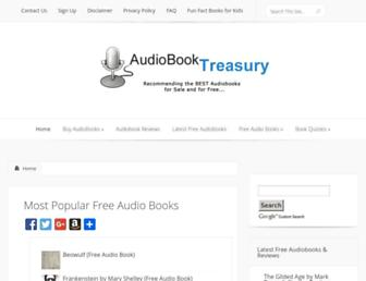 audiobooktreasury.com screenshot