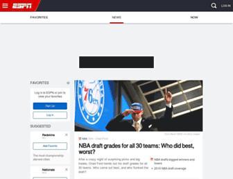 espn.go.com screenshot