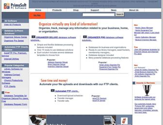primasoft.com screenshot