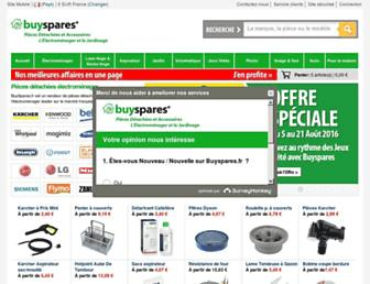 buyspares.fr screenshot