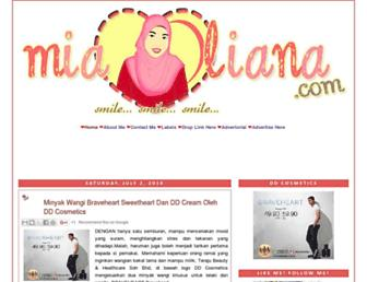 Thumbshot of Mialiana.com