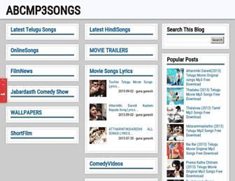 abcmp3songs.blogspot.com screenshot