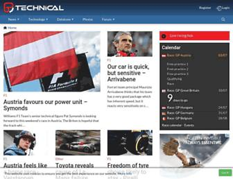 Thumbshot of F1technical.net