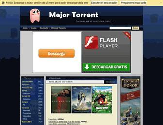 Thumbshot of Mejortorrent.com